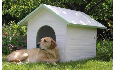 Caseta perro grande papeles del club pickwick for Casas de pvc para jardin