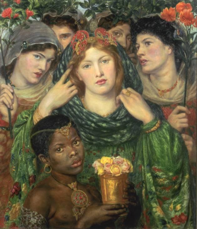 Resultado de imagen de the beloved rossetti painting