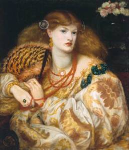 Monna Vanna 1866 by Dante Gabriel Rossetti 1828-1882