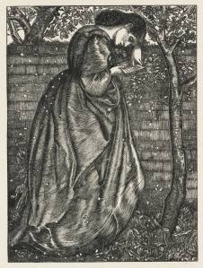 Summer Snow, engraved by the Dalziel Brothers published 1863 by Sir Edward Coley Burne-Jones, Bt 1833-1898